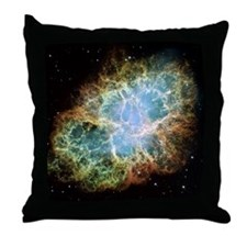 Crab Nebula  Throw Pillow