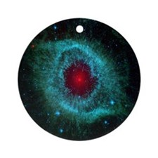 The Eye of God Round Ornament