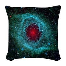 The Eye of God Woven Throw Pillow