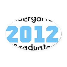 2012bluekgrad Oval Car Magnet