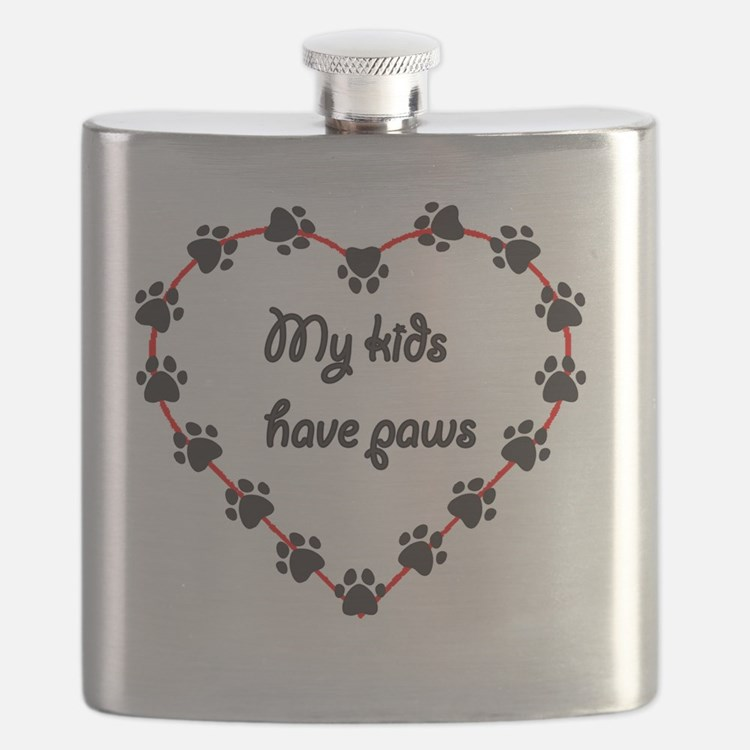 My kids have paws Flask