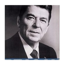 ART Reagan Tile Coaster