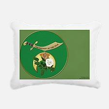 DONile License plate cop Rectangular Canvas Pillow