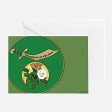 DONile License plate copy Greeting Card