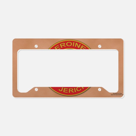 HOJ License plate copy License Plate Holder