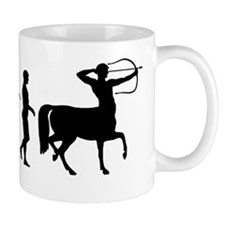 Evolution of Man - Centaur Mug