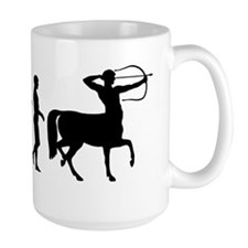 Evolution of Man - Centaur Mug