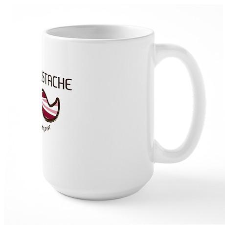 BaconMustache2 Large Mug