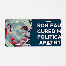Ron Paul Bumpersticker Aluminum License Plate