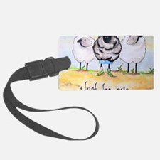 be ewe kr Luggage Tag