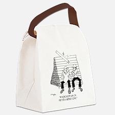 3704_horoscope_cartoon Canvas Lunch Bag