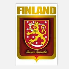 Finnish Gold Postcards (Package of 8)