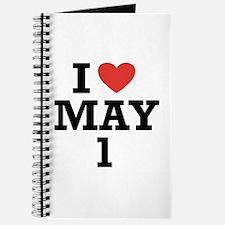 I Heart May 1 Journal