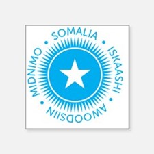 "ESsomali10x10_apparel Square Sticker 3"" x 3"""