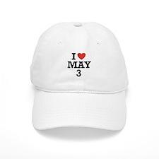 I Heart May 3 Baseball Cap