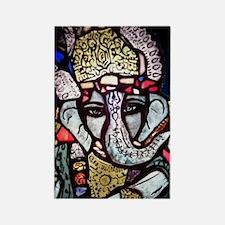 Ganesh Rectangle Magnet