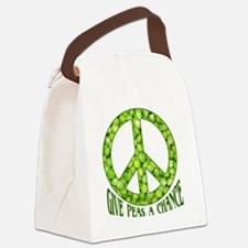 GivePeasachance Canvas Lunch Bag