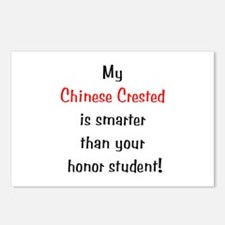 My Chinese Crested is smarter... Postcards (Packag