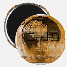 Creative Movement Global Globe Logo Magnet