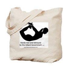 Betrayed by-Gillard Govt-Female Tote Bag