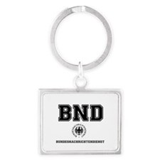 BND - GERMAN SPY AGENCY Landscape Keychain