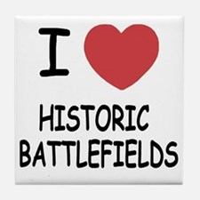 HISTORIC_BATTLEFIELDS Tile Coaster