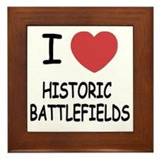 HISTORIC_BATTLEFIELDS Framed Tile