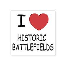 "HISTORIC_BATTLEFIELDS Square Sticker 3"" x 3"""