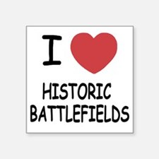 "HISTORIC_BATTLEFIELDS Square Sticker 3"" x 3"""