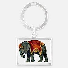 elephant  Landscape Keychain