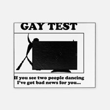 gay test Picture Frame