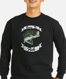 born to fish bass T