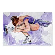 Purple Haze Figure Skater Postcards (Package of 8)