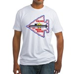 USS BATON ROUGE Fitted T-Shirt