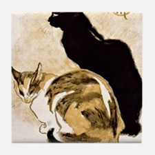 Steinlen Cats Tile Coaster
