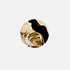 Steinlen Cats Mini Button