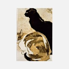 Steinlen Cats Rectangle Magnet