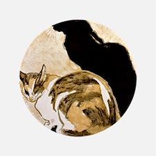 """Steinlen Cats 3.5"""" Button"""