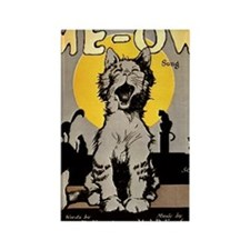 Cats Meow 1920 Rectangle Magnet