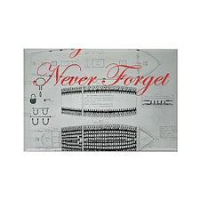 nf slave ship Rectangle Magnet