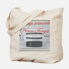 nf slave ship Tote Bag