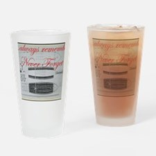 nf slave ship Drinking Glass