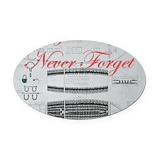 nf slave ship Oval Car Magnet