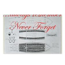 nf slave ship Postcards (Package of 8)
