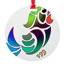 PURDY BURDY Ornament