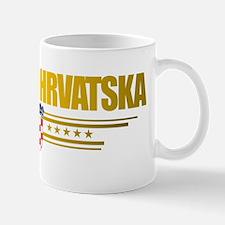 Croatia (Flag 10) pocket Mug