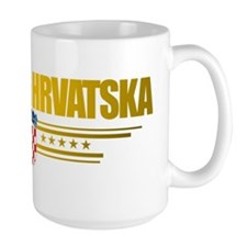 Croatia (Flag 10) pocket Mug