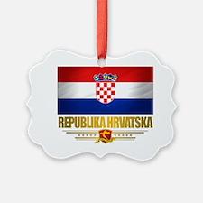 Croatia (Flag 10) Ornament