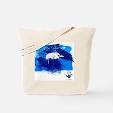 CWC_PamelaSeal_WhtTshirt_10x10 Tote Bag