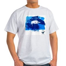 CWC_PamelaSeal_WhtTshirt_10x10 T-Shirt